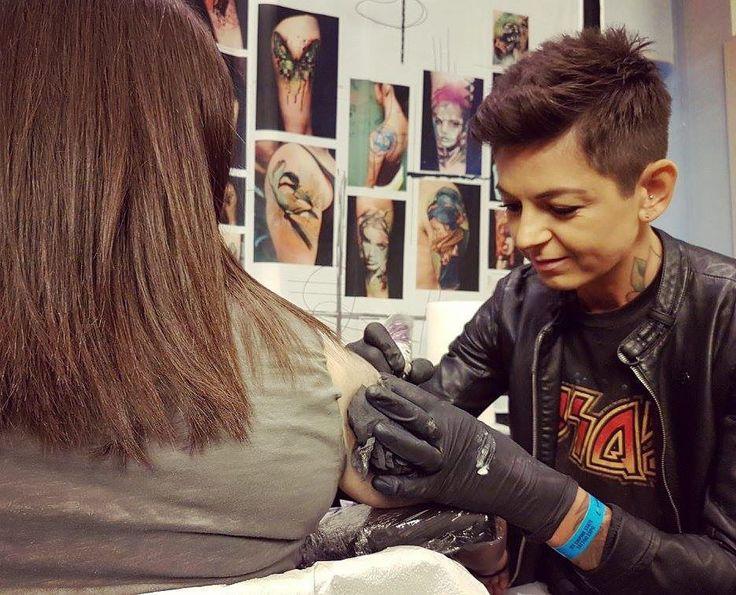 "1,022 Likes, 13 Comments - Ivana Tattoo Art 🔥 (@ivanatattooart) on Instagram: ""NYC Empire State Tattoo Expo 2016  @nyempirestatetattooexpo @cheyenne_tattooequipment"""