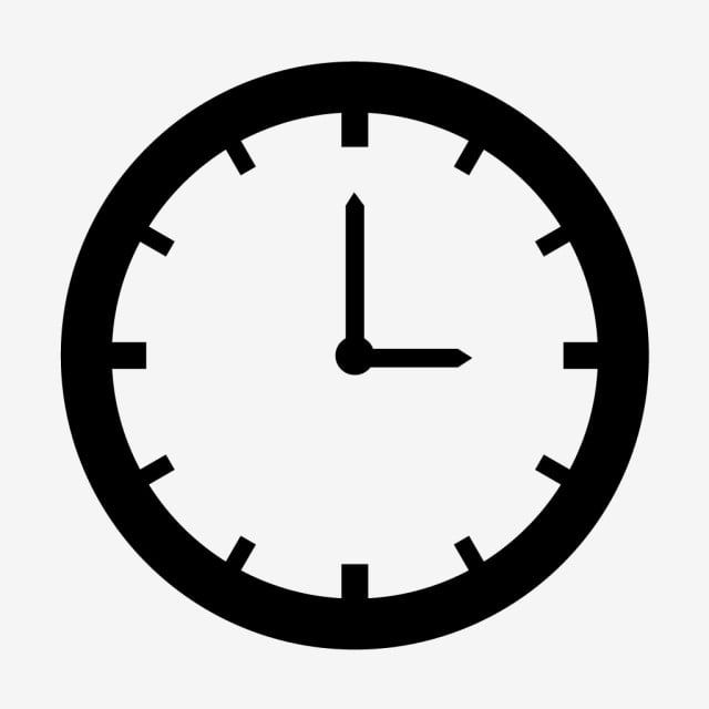 Vector Clock Icon Clock Clipart Clock Icons Clock Png And Vector With Transparent Background For Free Download Clock Icon Time Icon Clock