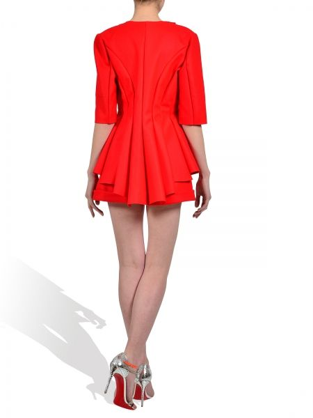 We love fashion! #parlor #red #love