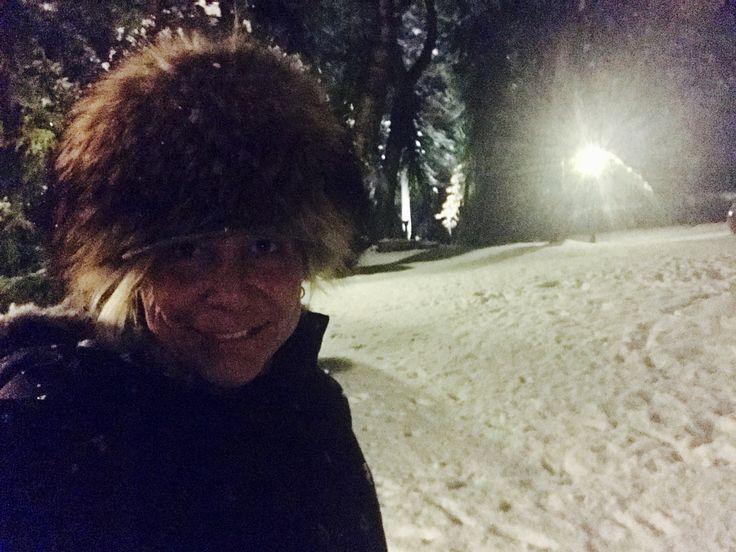 Neve a casa....