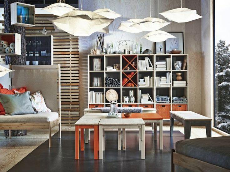Modernes Wohnzimmer einrichten - Möbel aus Zedernholz