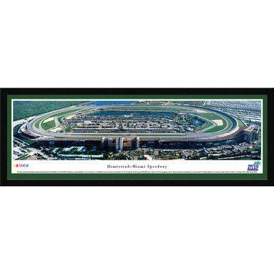 BlakewayPanoramas NASCAR Homestead-Miami Speedway by James Blakeway Framed Photographic Print