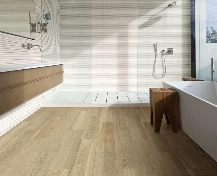 #Marazzi #Treverkview #woodlook #woodtiles #ceramics #bathroom