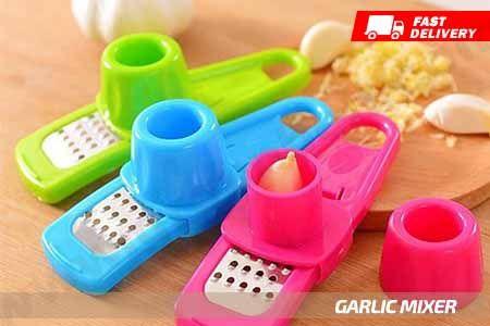 Garlic Mixer alat penghalus bawang dan bumbu dapur lainnya dengan mudah hanya Rp 14.990 http://groupbeli.com/view.php?id=881