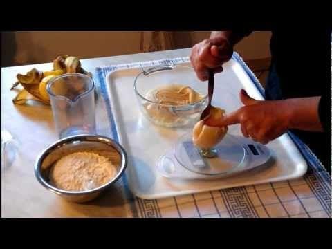 Lievito madre con Kefir di latte (lezione 2) Il rinfresco - YouTube