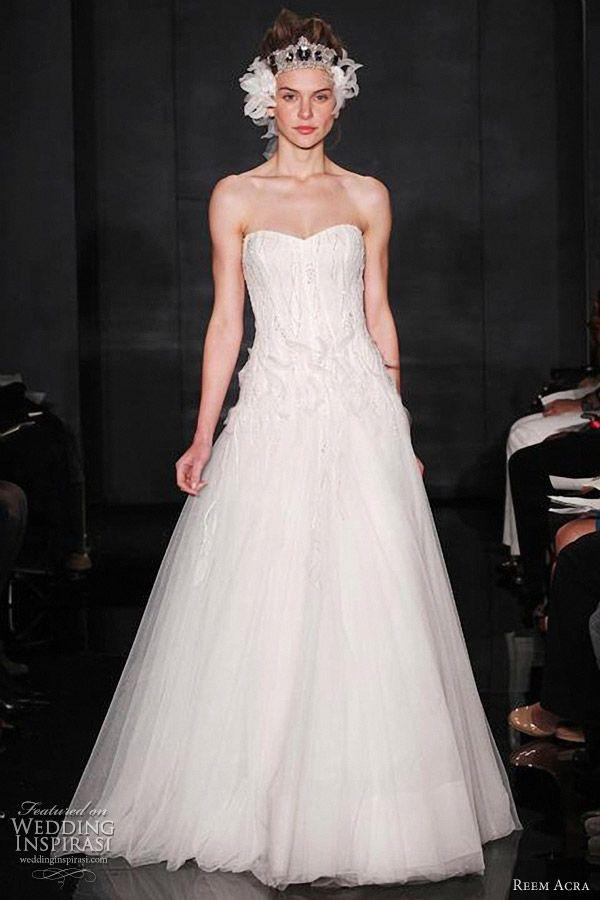 65b7c0d7b6eb reem acra bridal gown fall 2012 -- Reem Acra Fall 2012 Wedding Dresses |  Wedding Inspirasi #wedding #weddings #bridal #weddingdress #weddingdresses # bride ...