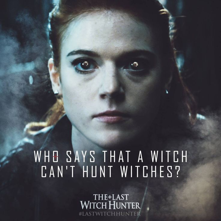 Chloe - played by Game of Thrones's Rose Leslie - is no ordinary witch. Underestimate her at your own risk. #LastWitchHunter