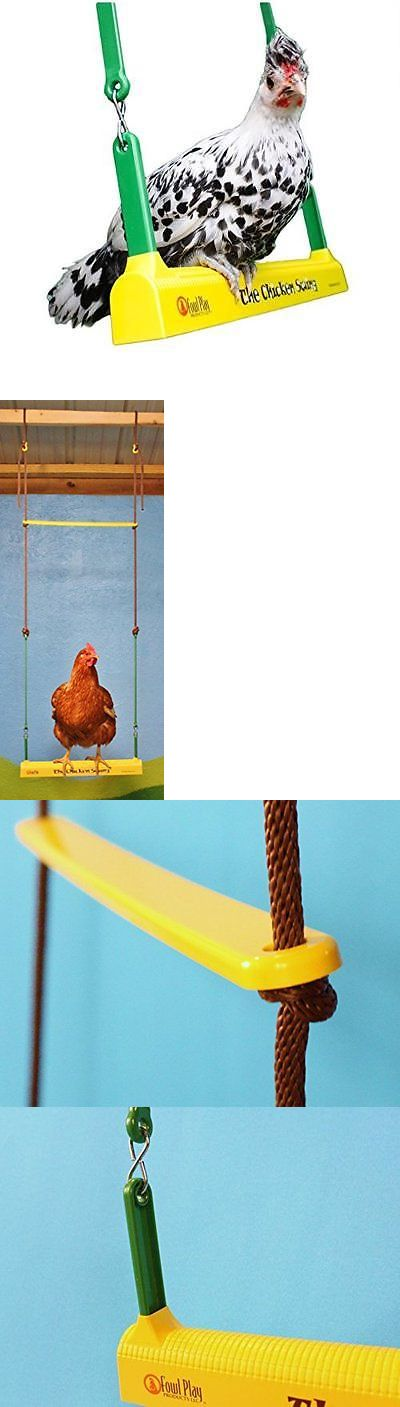 Backyard Poultry Supplies 177801: Fowl Play Products, The Chicken Swing, Chicken Toy ,13100, Country Corn, 1 , New BUY IT NOW ONLY: $36.37