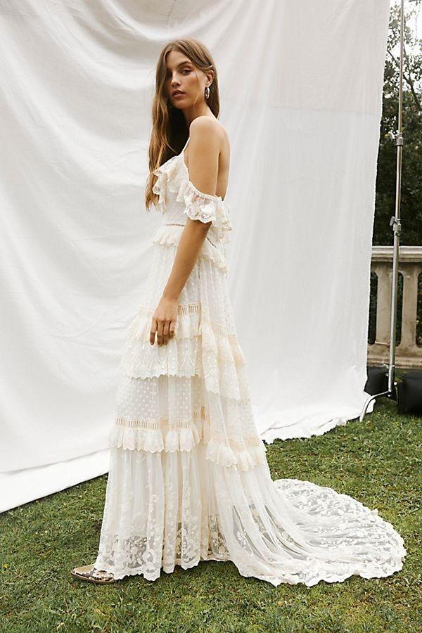 Chloe Gown Romantic Bohemian Wedding Gown Boho Wedding Dress