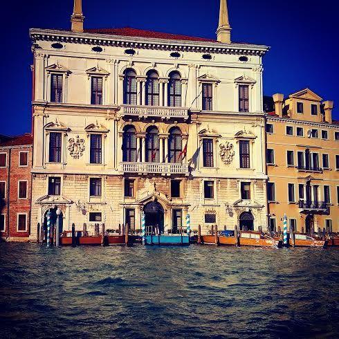 Una delle meraviglie del Canal Grande ! #Venezia