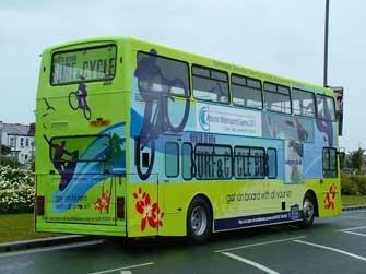 North Devon Surf Cycle Bus: Cycling Bus, Devon Businesses