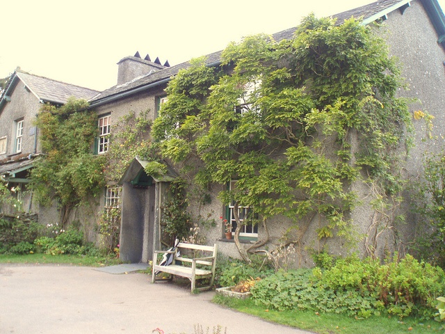 Hill Top, Beatrix Potter's House in Near Sawrey, Cumbria,