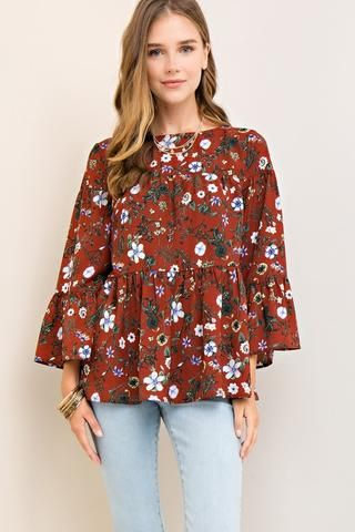 Fall Spice Top – Bungalow 123