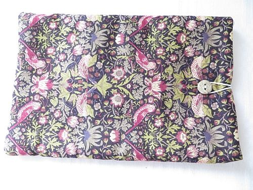 Liberty Tana Lawn Tablet Cover Strawberry Thief