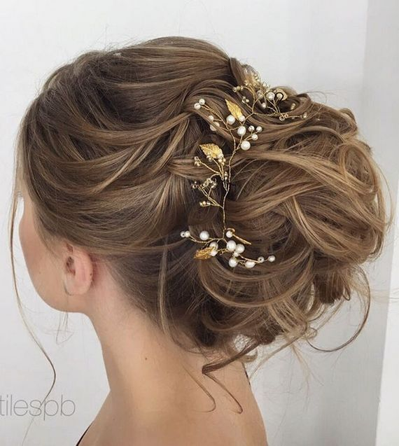 long hair styles for party wedding ideas elstile wedding hairstyles for hair 5862 | 63e0b5c0ff4b2e4503f2aba5862d0e5c wedding hairstyle inspiration pearl flower