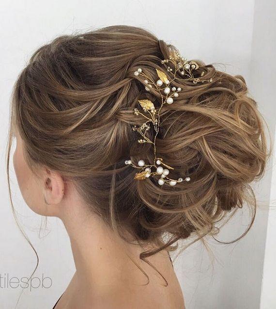 Elstile wedding hairstyles for long hair 61 - Deer Pearl Flowers / http://www.deerpearlflowers.com/wedding-hairstyle-inspiration/elstile-wedding-hairstyles-for-long-hair-61/