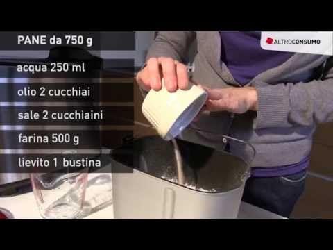 Come fare il pane in casa? Tutorial sull'uso della macchina del pane - YouTube