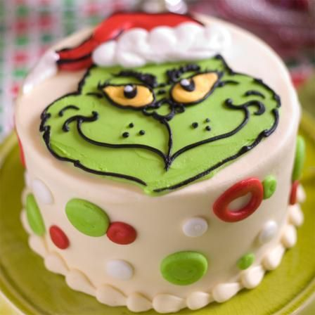 Grinch Cake | Edgar's Marketplace