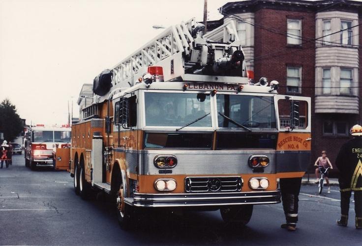 Rescue Fire Co Lebanon, PA Apparatus Pinterest
