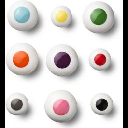 The dots pomelli - anne black da mettere su bacheca / cornice per appendere collane
