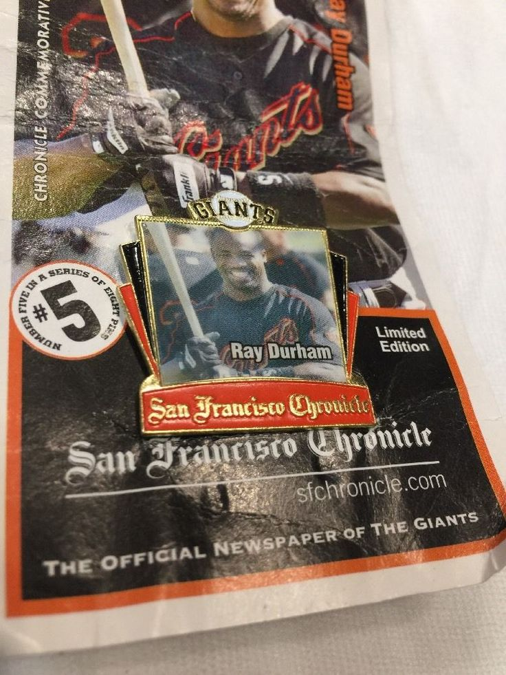 San Francisco Giants 2003 Champions Ray Durham Pin #sfgiants #Unbranded #SanFranciscoGiants