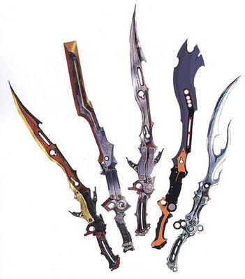 FFXIII Lightning's Gunblades