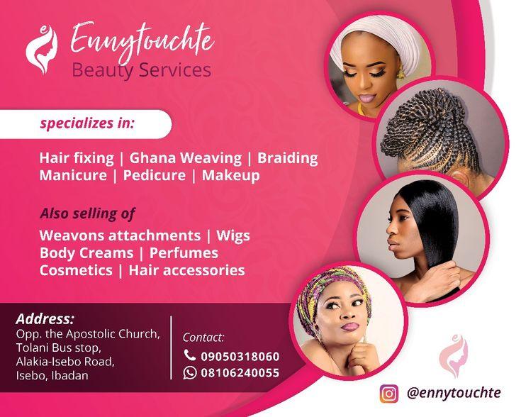 Ennytouchte Beauty Services Flex Banner Design Marvilgraphics Beauty Services Beauty Flex Banner Design
