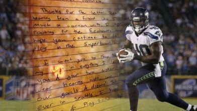 Deaf Seattle Seahawks Star Derrick Coleman Inspires Young Girl | Video - ABC News