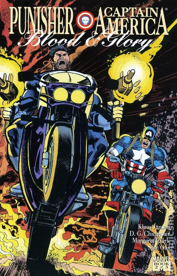 Blood and Glory (1992 Punisher and Captain America) 2