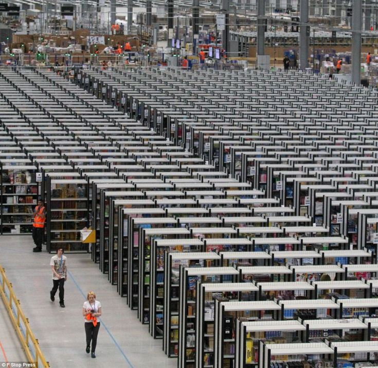 Workers are required round-the-clock to meet the phenomenal demand for Christmas gifts at Amazon's eight UK distribution centres