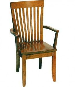 Monterey Arm Chair With Wooden Seat By Gat Creek. Find This Pin And More On Va  Wayside Furniture ...
