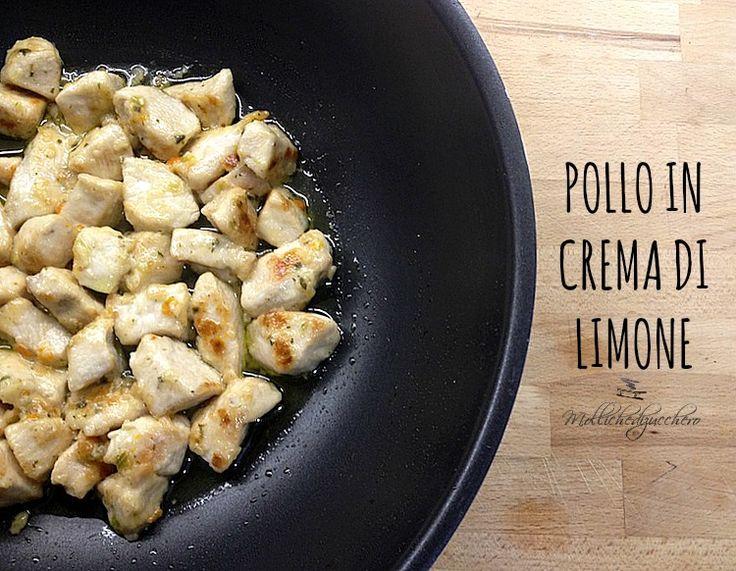 Bocconcini di pollo in crema di limone