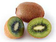 batido de kiwi para colesterol y triglicéridos