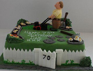 Gardeners birthday cake! | by Pauls Creative Cakes