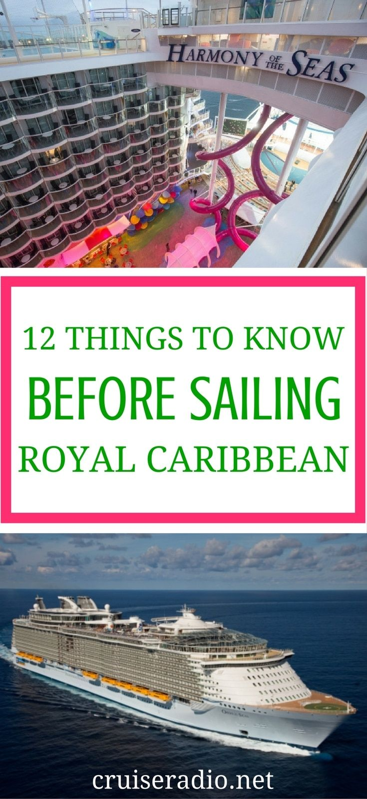 If you're considering booking a cruise with Royal Caribbean, or already have, check out our 12 things you need to know before sailing!