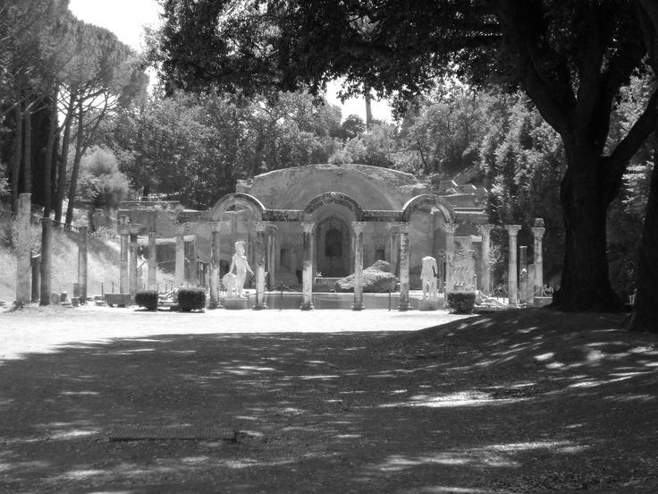 Villa Hadriana, Rome, photo by Michiel van G.