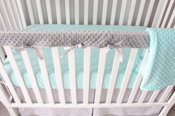 Hey, I found this really awesome Etsy listing at https://www.etsy.com/listing/170342601/crib-rail-cover-in-32-colors-solid-minky