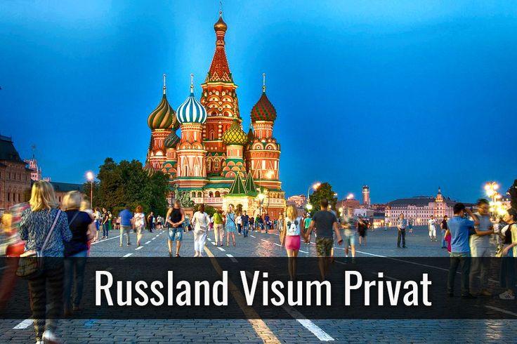 Russland Visum für Privat beantragen ✓ Wählen Sie zwischen: Visum für Privatreisende und Reisende mit Behinderung ✓ Übersicht der Visumkosten ✓