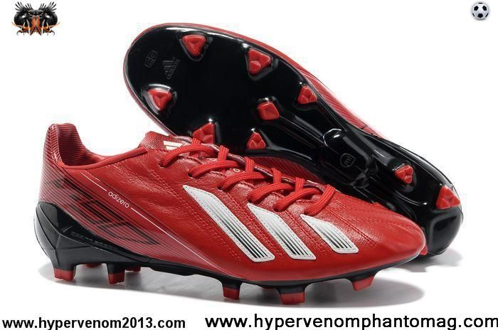 adidas adizero F50 TRX FG LEA - Infrared White Black For Sale