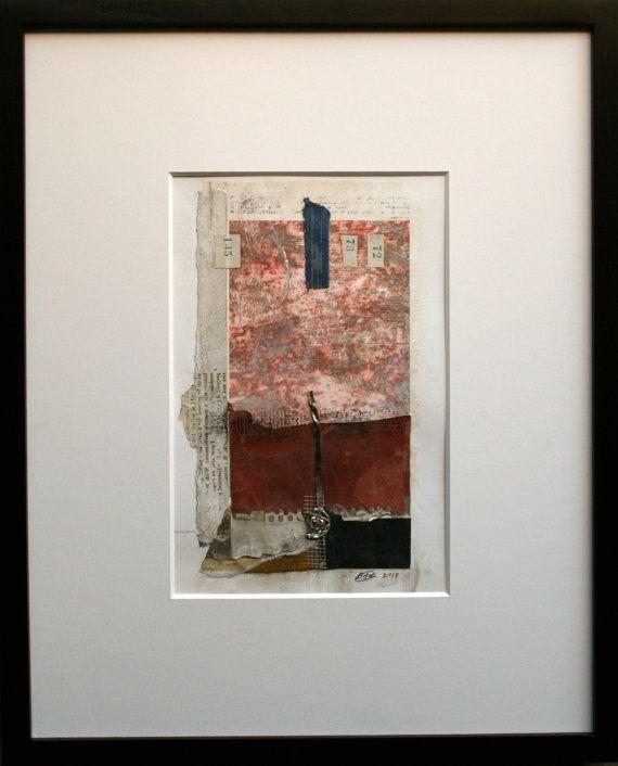 Suma 145 Mezcla pintura Original de los medios de por TENxFIFTEEN