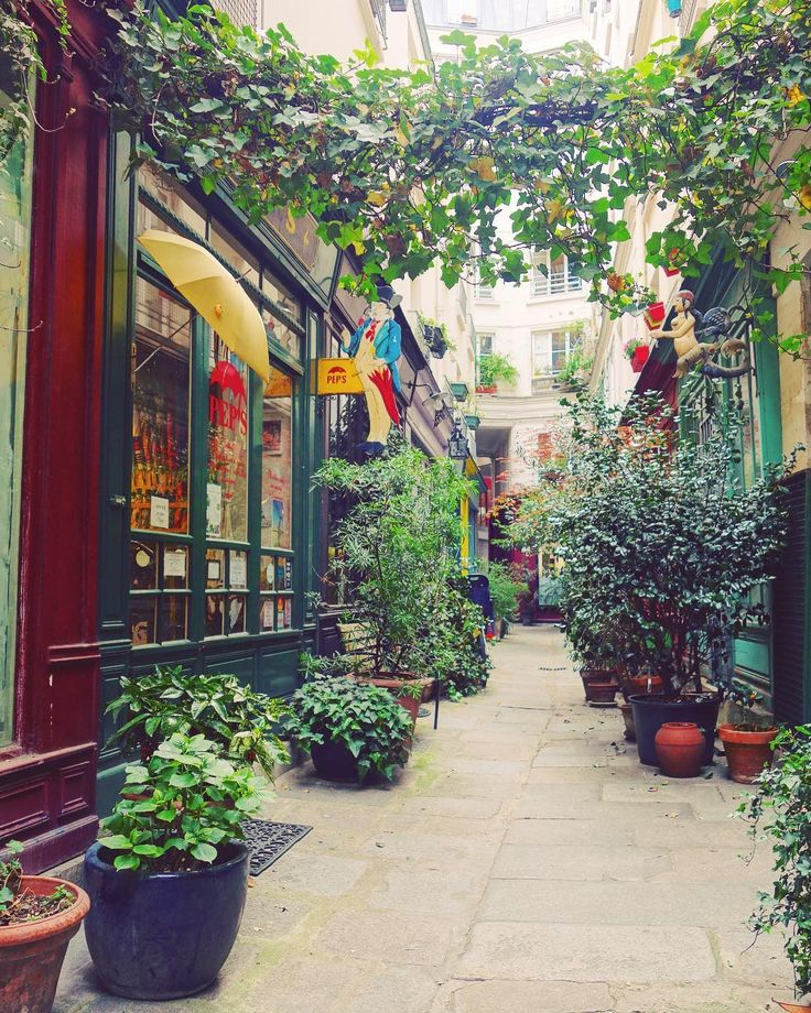Finding new hidden treasures in Paris. . This charming flowered private passage in the heart of the 3rd arrondisseme is home to Pep's umbrella repair store.  . . . #jadoreparis #travel #france #sunshine #wheninparis #explore #passionpassport #wanderlust #livingineurope #travelbug #athomeintheworld #lategram #instatravel #travelgram #keepexploring #travelgirl #paris #seetheworld