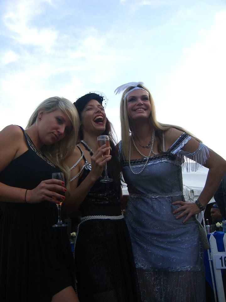 Gatsby hens party outfits at the Vodacom DBN July