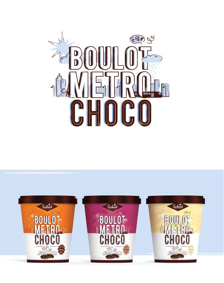 Découvrez mon projet @Behance: «Boulot Metro Choco»…