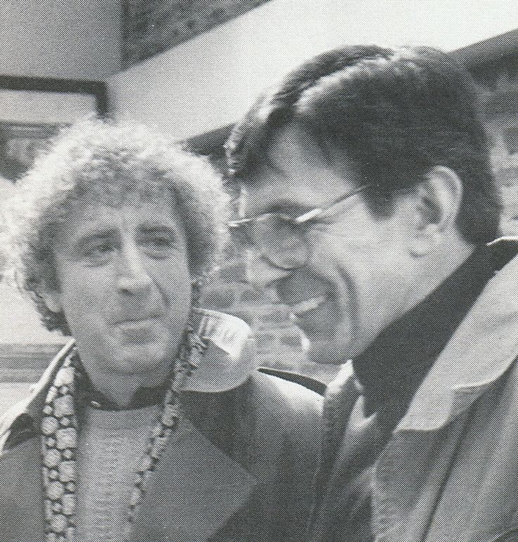 Leonard Nimoy and Gene Wilder