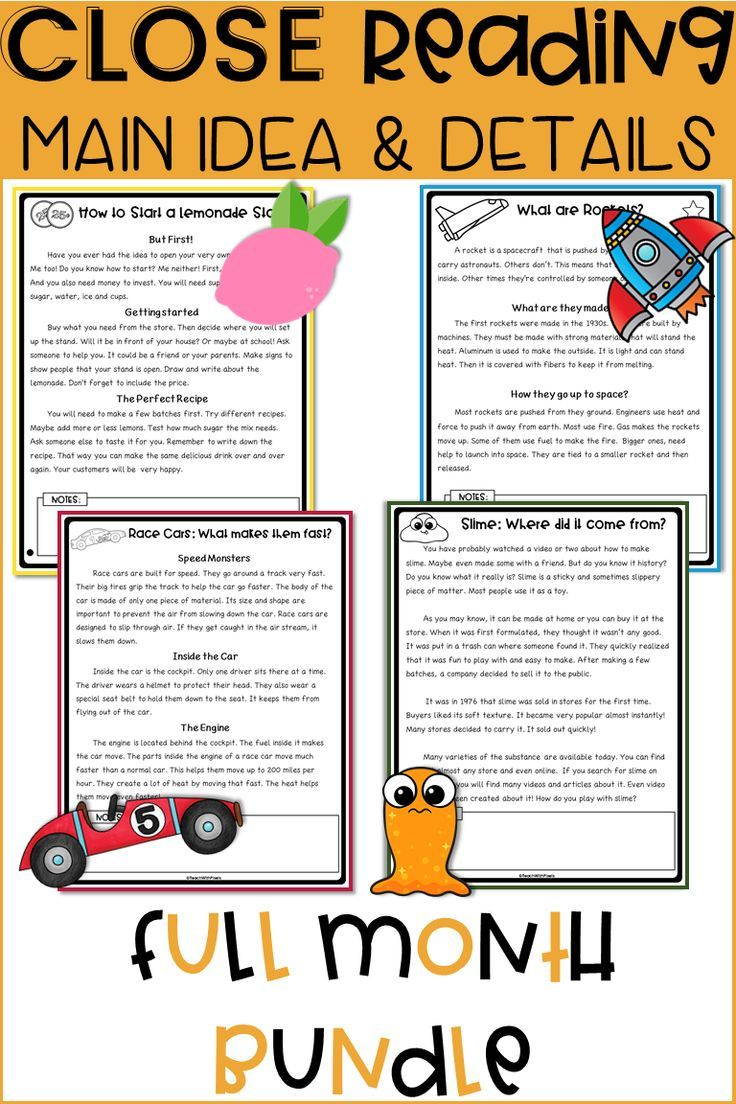 - 2nd Grade Reading Comprehension Passages And Questions For MAIN