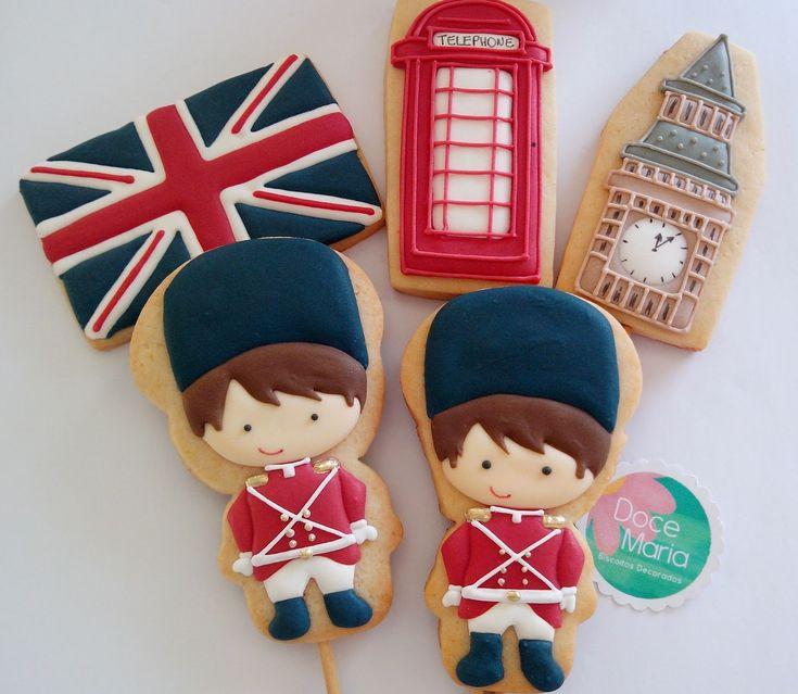 Doce Maria - Biscoitos decorados Londres - Soldadinho de chumbo
