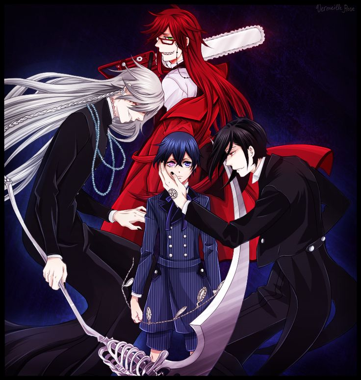 Do you believe in curses?(( I dunno, I don't think Bassy or The Undertaker is curse but maybe Grell