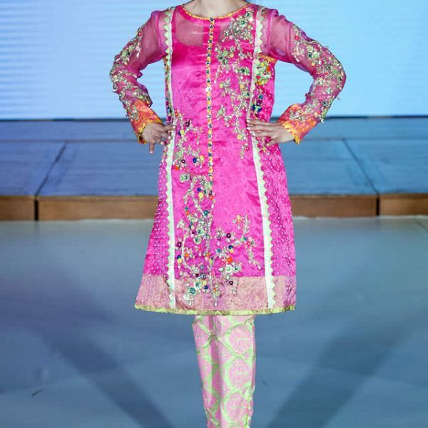 2015 Pakistan Fashion Week 8 London Somal Halepoto Dresses Gallery