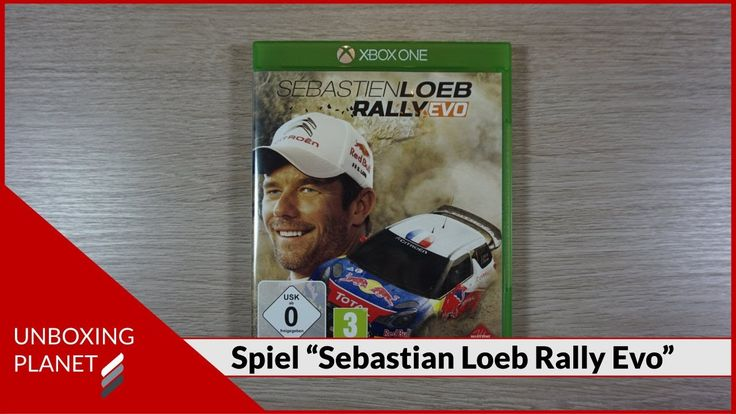 "Unboxing Video über Spiel ""Sebastien Loeb Rally Evo"" für Xbox-One mit Gameplay #unboxingvideo #spiel #sebastienloebrally #gameplay"