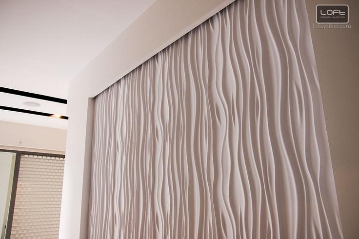 Paneles decorativos  Decorative Panels 3D - Model 27 STREAM  Loft Design System